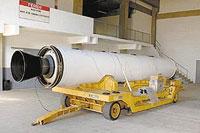 Teste em motor de foguete brasileiro dá certo