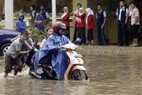 Desastrosas inundações castigam a Indonésia