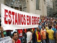 A retomada das greves no Brasil