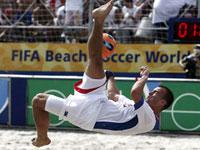 Brasil, Portugal e Rússia nas quartas-de-final do Mundial de futebol de praia