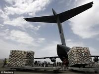 Ajuda humanitária russa para Afeganistão