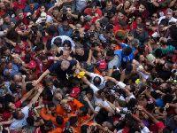 Papa envia terço a Lula, preso político há mais de dois meses. 29013.jpeg