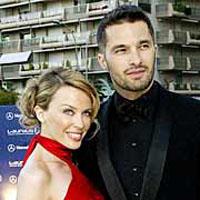 Kylie Minogue e o actor francês Olivier Martinez sepraram-se