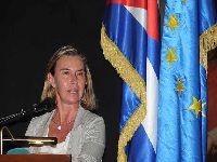 Cuba: O bloqueio é obsoleto e ilegal diz Mogherini. 28020.jpeg