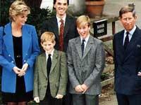 Filhos da princesa Diana fazem show em sua homenagem