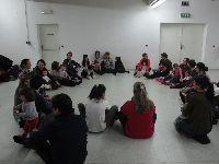 Regina Guimarães e Saguenail no TCSB, para a sessão de Maio do Clube de Leitura. 31024.jpeg