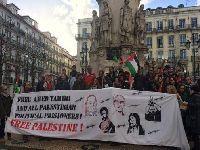 Manifestações exigiram libertação imediata de Ahed Tamimi. 28031.jpeg