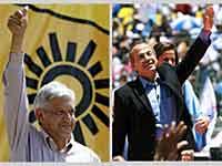 Eleições presidenciais no México: Empate técnico.