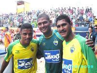 Brasil campeão sul-americano de futebol praia em Montevidéu