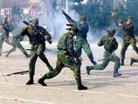 Forças especiais na senda de terroristas