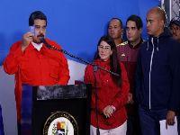 Maduro defende poder do voto e pede que comunidade internacional respeite vontade do povo. 27034.jpeg