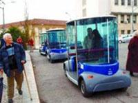 Veículos sem condutor CyberCar circulam em Coimbra