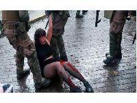 Graves incidentes encerraram a segunda-feira de protestos no Chile. 32056.jpeg