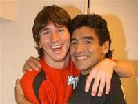 Maradona entra em polémica contra atual ídolo de seu país
