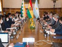 Bolívia e Argentina aprofundam laços históricos retomando agenda. 35065.jpeg