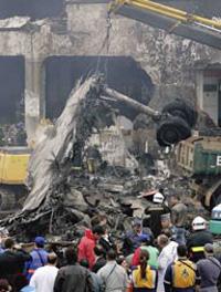 Oito corpos de vítimas do acidente com o Airbus A320 da TAM identificados