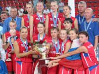 Seleção da Rússia  garante vaga para a Olimpíada de 2008