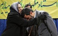 Presidente do Irã teve contato com mulher