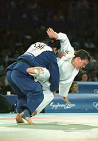 Marques judoca brasileira conquistou o bronze