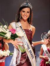 Eleita nova miss Mundo Brasil