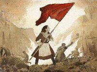 O povo ficou com os canhões e o governo fugiu para Versalhes. 35089.jpeg
