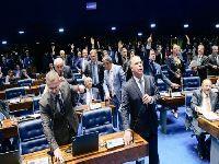 Senado referenda texto da Câmara que mantém Funai e demarcações no Ministério da Justiça. 31096.jpeg