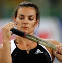 Isinbayeva - destaque de Super Grand Prix de Atletismo de Mônaco
