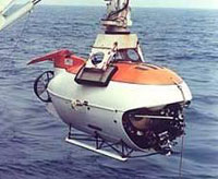 Batiscafos russos tripulados atingiram o fundo do lago Baical