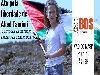 São Paulo - Ato pela liberdade de Ahed Tamimi. 28108.jpeg