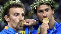 Jogos Pan-Americanos: Ricardo e Emanuel conquistam ouro