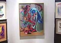 Quadro da pintora portuguesa vendido por 200 mil euros(foto)