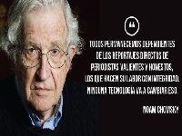 Noam Chomsky diz que Cuba é o único país que tem demonstrado 'verdadeiro internacionalismo'. 33115.jpeg