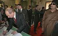 Rússia perdoou a antiga dívida da Líbia de 4,6 bilhões de dólares