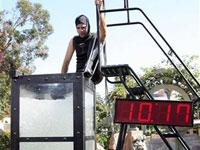 Húngaro bate recorde depois de ficar 10 minutos debaixo d'água
