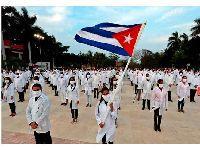 Chega a África do Sul brigada médica de Cuba. 33123.jpeg