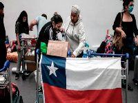Mais de 13 milhões de chilenos estão em quarentena. 35125.jpeg