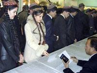 Kurbanguly Berdymukhamedov foi eleito o presidente do Turcomenistão