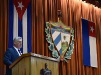 Discurso de Díaz-Canel, presidente de Cuba Socialista: