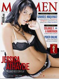 Jessica Athayde posa para a revista depois de jejum de 3 anos