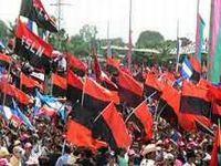 Militantes sandinistas respaldam políticas de aliança. 17146.jpeg