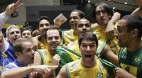 Jogos Pan-Americanos: Seleção masculina de vôlei na semifinal depois da vitoria sobre a Cuba