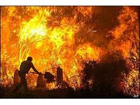 Incêndio na cadeia de Rio Piracicaba