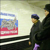 Dois terços dos russos estão muito pouco interessados em política
