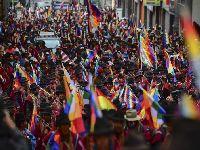 Evo Morales saúda a resistência dos povos indígenas. 34164.jpeg