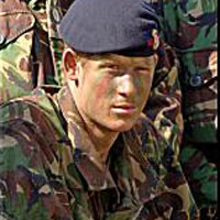 Príncipe Harry vai a Iraque para patrulhar a fronteira com o Irã