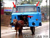 Carroças terão de ser emplacados e sinalizados e usar fraldões