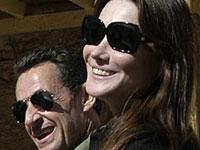 Sarkozy e Carla Bruni visitam a cidade de Petra, na Jordânia