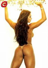 Foto de Gracyanne Barbosa preferida entre os leitores da Playboy