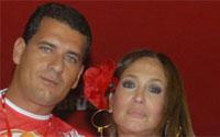 Susana Vieira perdoou mesmo o marido, Marcelo Silva