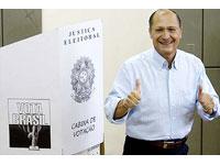 Alckmin desmenti ser candidato à sucessão presidencial em 2010